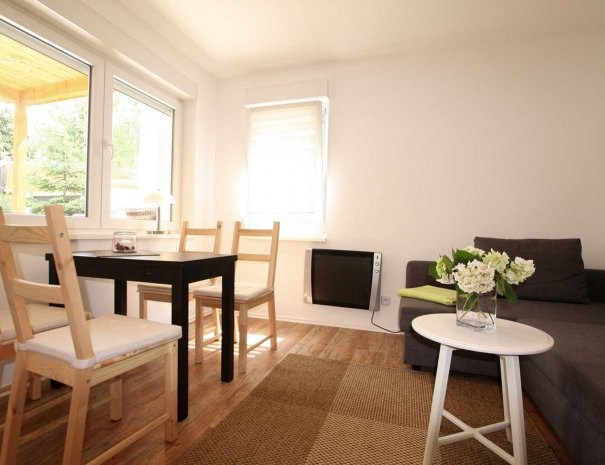 Wohnzimmer Ferienhaus Birgit